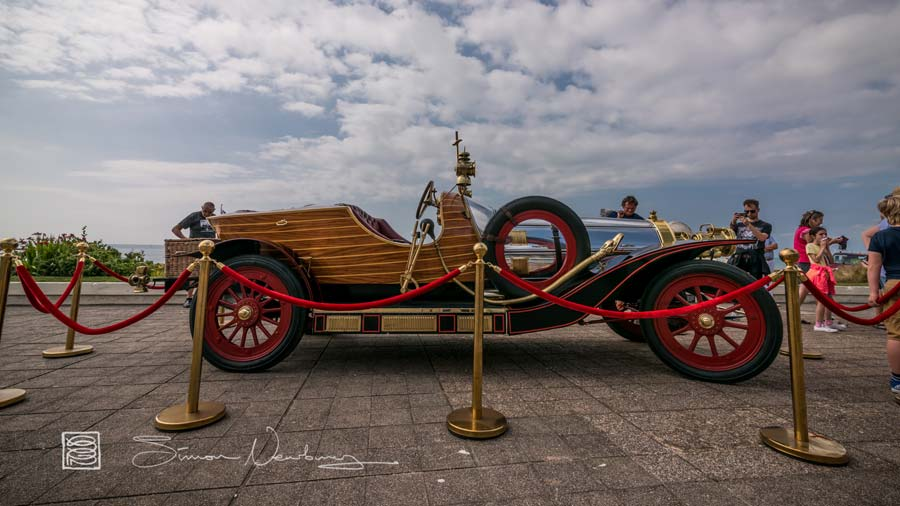 Chitty Chitty Bang Bang on the DLWP terrace