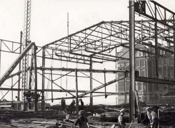 The DLWP under construction