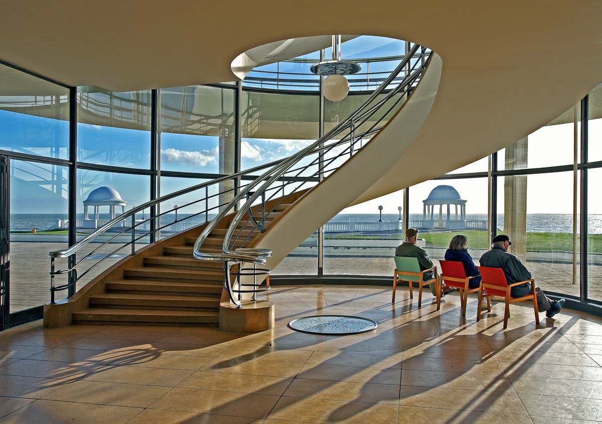The DLWP staircase
