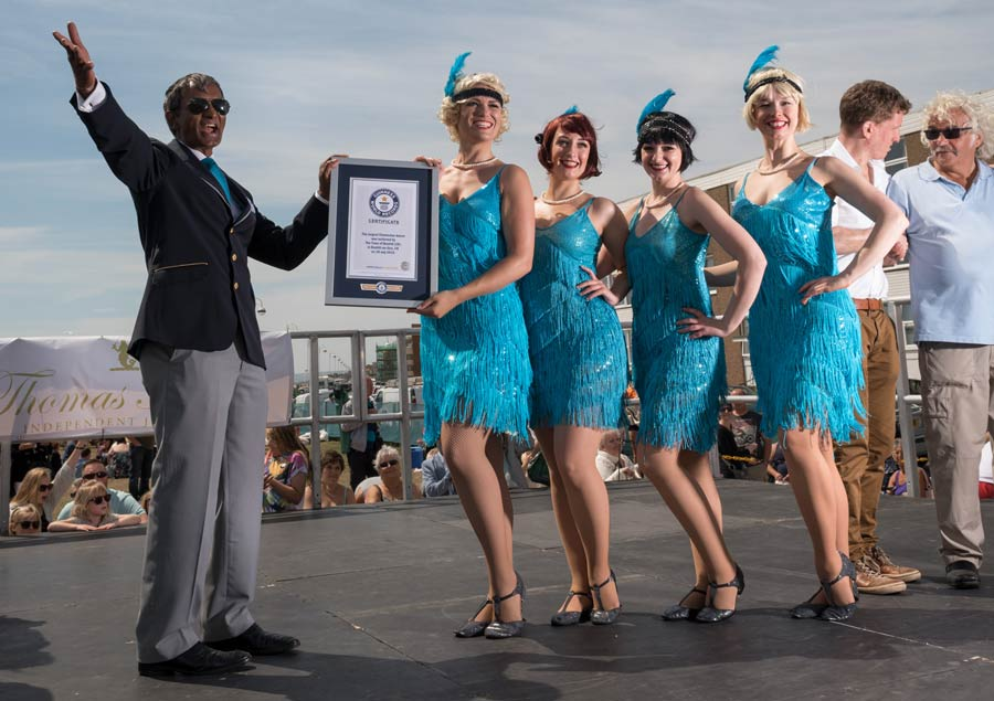 Bexhill's first world record