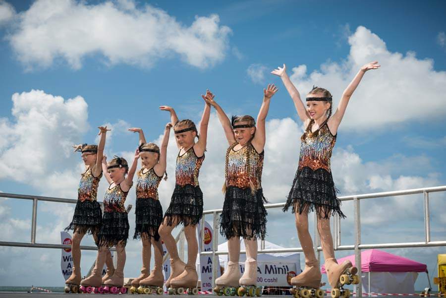 Young dancers take part