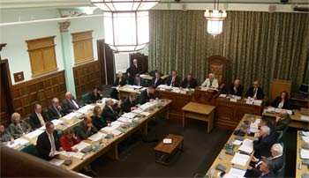 Full council meeting - photo