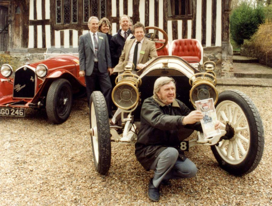 The organisers of the Bexhill 100 Festival of Motoring at Filching Manor