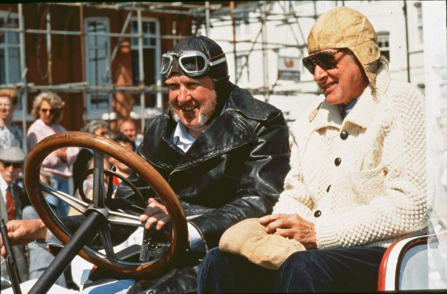 Spike Milligan with Paul Foulkes Halbard at the first Bexhill 100
