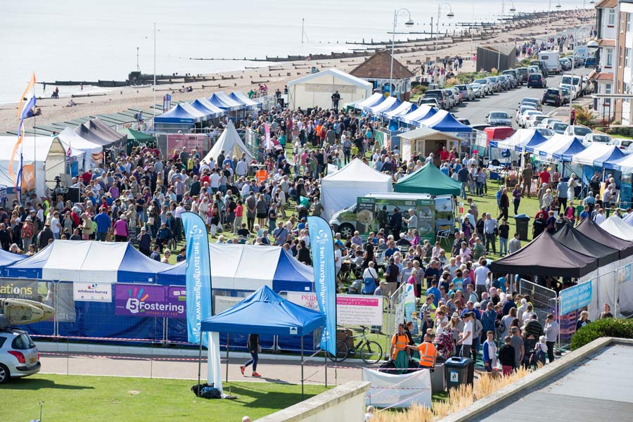 Festival of the Sea as seen from DLWP