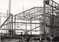 The De La Warr Pavilion Under Construction
