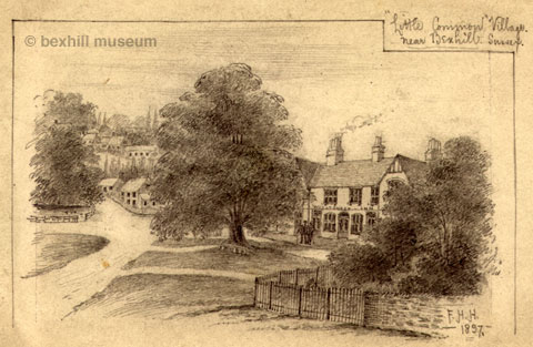 Wheatsheaf, Little Common 1897