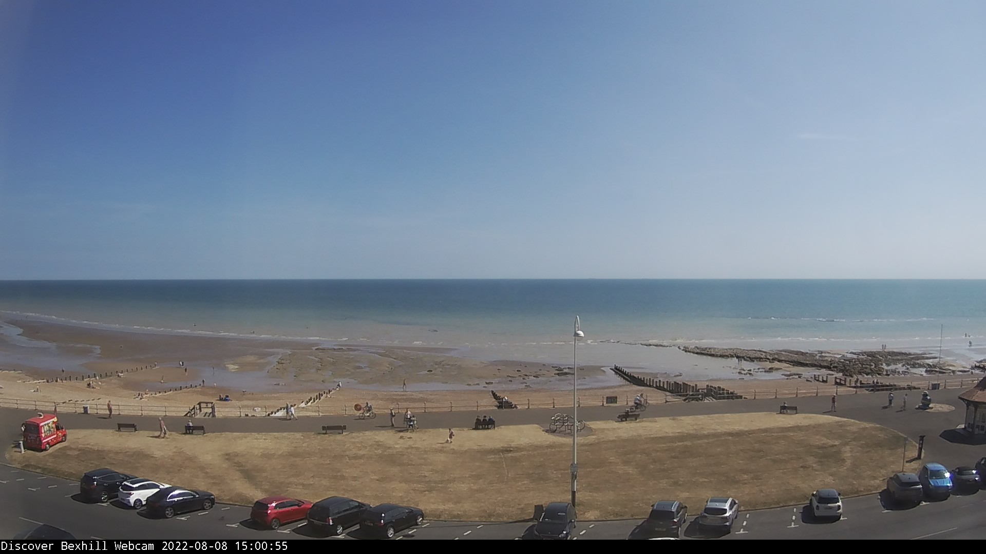 Latest Bexhill webcam photograph